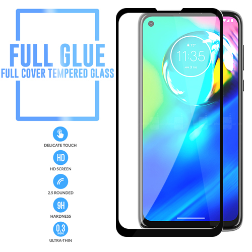 Full Glue Motorola Moto G Power 2020 Full Cover Tm Glass Ebay