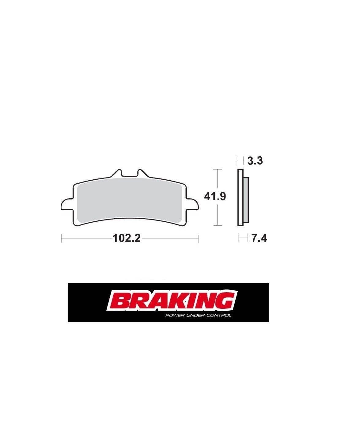 P1r930 56 Braking Super Sintered Brake Pads For Ktm Smr
