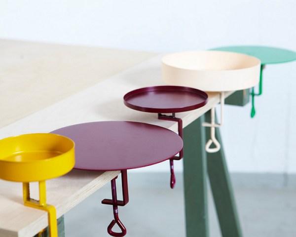 Clamp Trays by Navet - Photo Viktor Sjodin