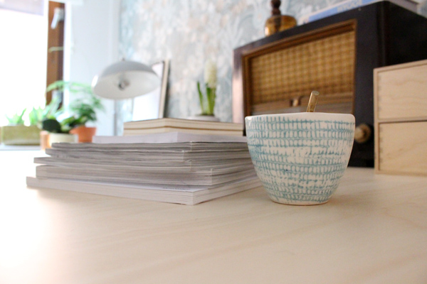 workspace makeover - Accessorize your Home - HALA lamp