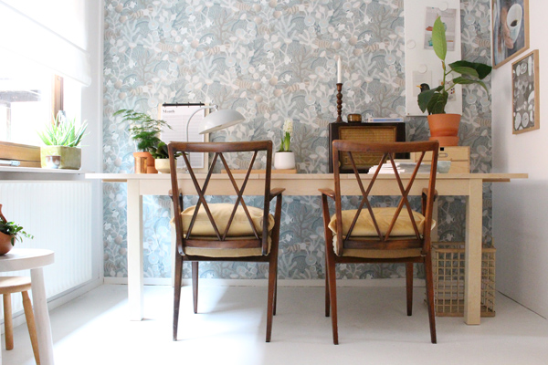 workspace makeover - Accessorize your Home - BJURSTA - IKEA