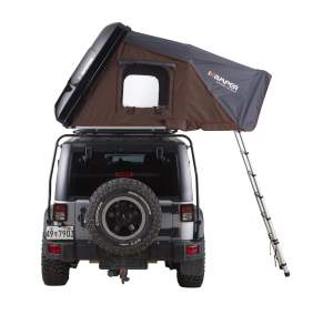 ikamper Skycamp rear view Jeep