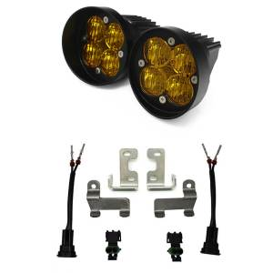 Toyota, Tacoma/Tundra/4Runner, Squadron SAE Fog Light Kits Amber