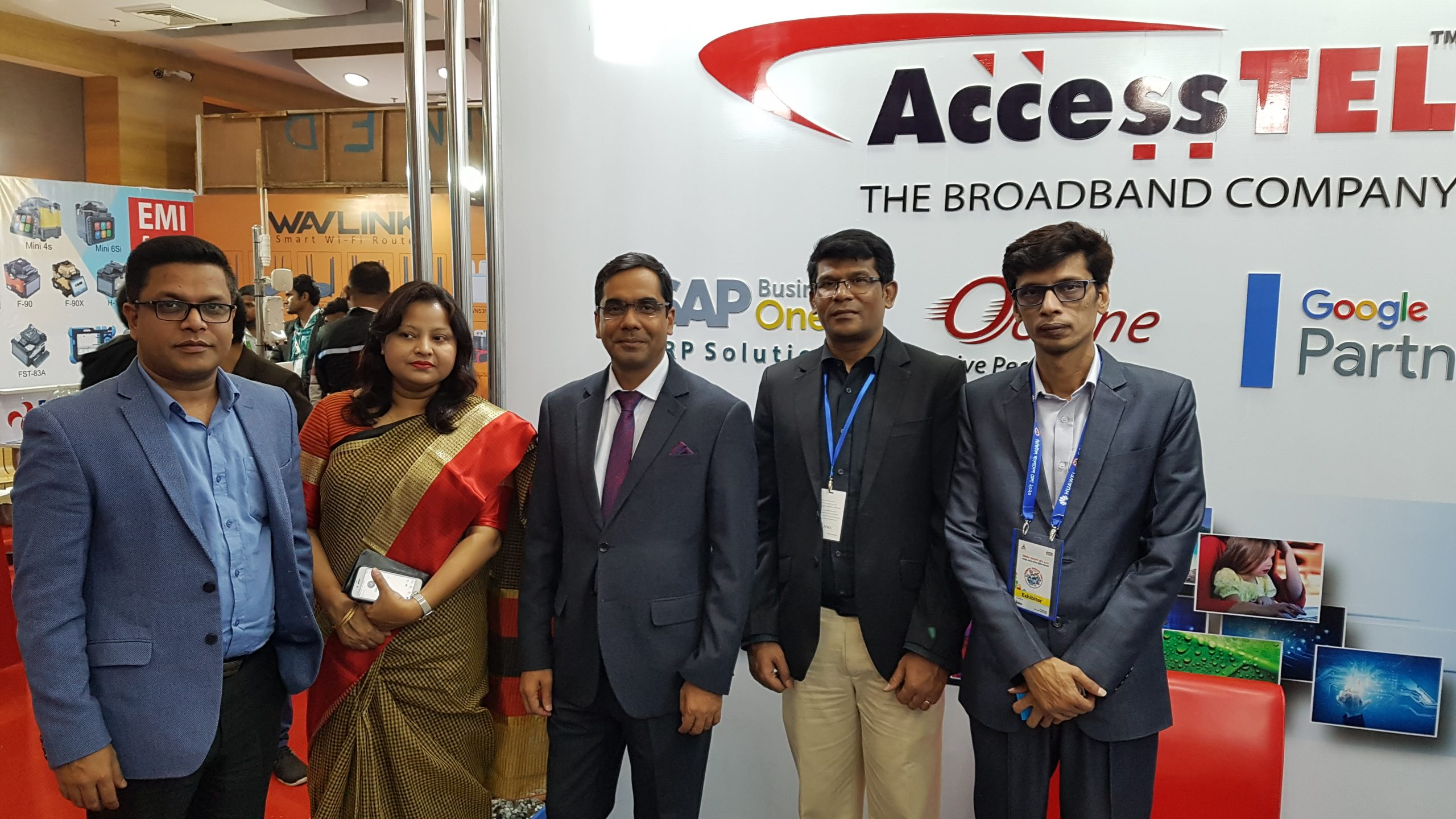 AccessTEL Team at Digital Mela 2020