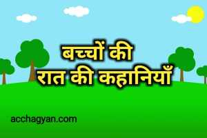 Read more about the article बच्चों की रात की कहानियां – Best 2 Stories