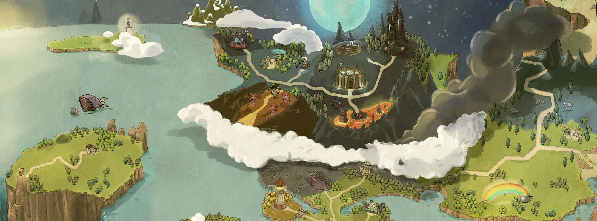 Darkmoor RPG Character Generator