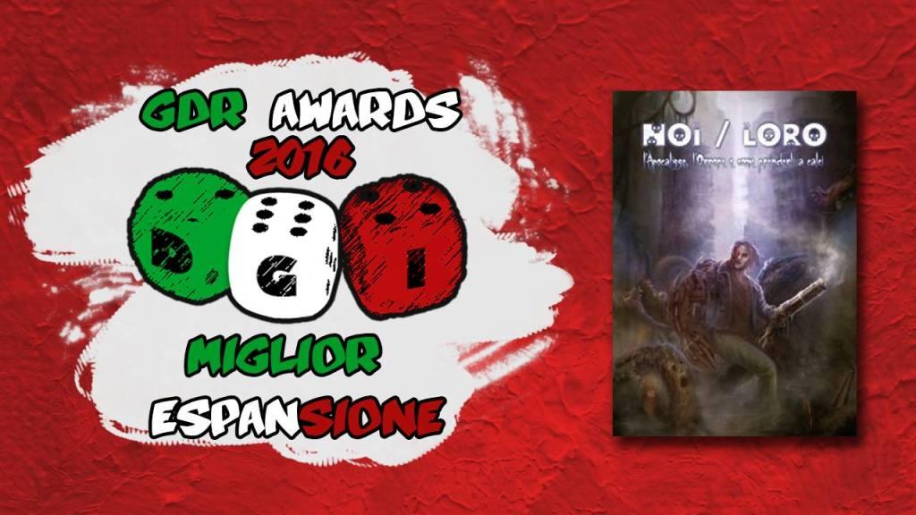 DGI GDR Awards: NOI / LORO GDR è la miglior espansione del 2016