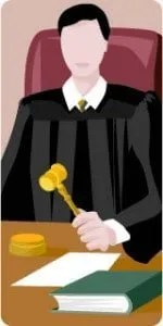 issue court proceedings