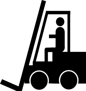 stacker truck work accident claim