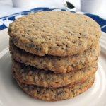Poppy Seed Oatmeal Spelt Cookies | Accidental Artisan