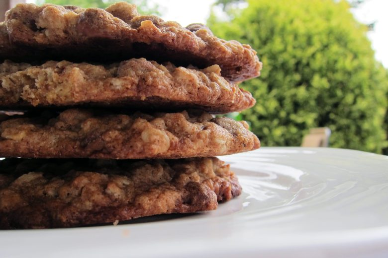 Oatmeal Chocolate Chip Spelt Cookies   Accidental Artisan