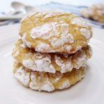 Lemon Crackle Spelt Cookies | Accidental Artisan