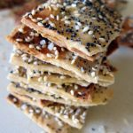 Seedy Spelt Flatbread Crackers | Accidental Artisan