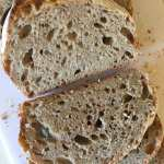 No Knead Spelt Sourdough Bread | Accidental Artisan