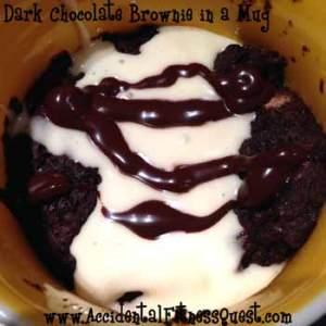 Secret Ingredient Brownie in a Mug