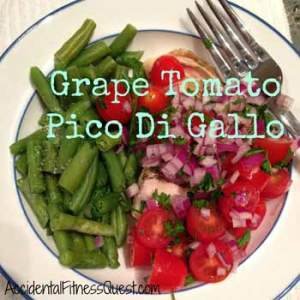 Grape Tomato Pico Di Gallo