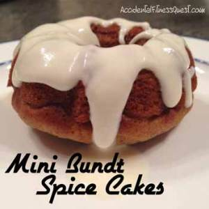 Mini Bundt Spice Cakes