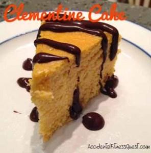 Flourless Clementine Cake