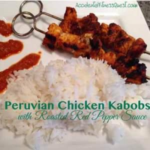 Peruvian Chicken Kabobs