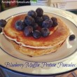Blueberry Muffin Protein Pancakes