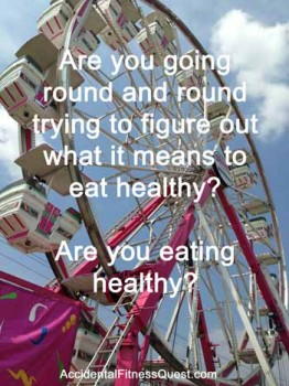 are you eating healthy