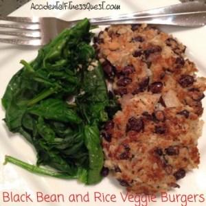 Black Bean and Rice Veggie Burgers