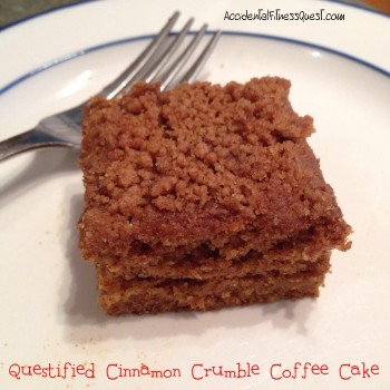 Lower Calorie Vegan Coffee Cake