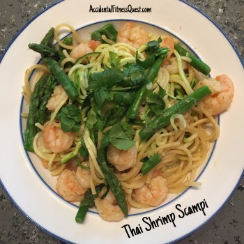 Thai Shrimp Scampi