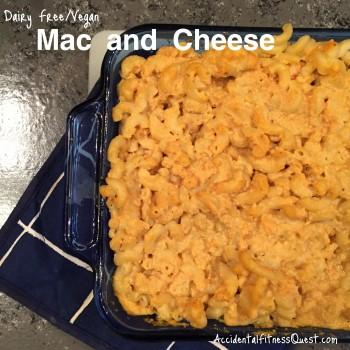 Dairy Free Vegan Mac and Cheese