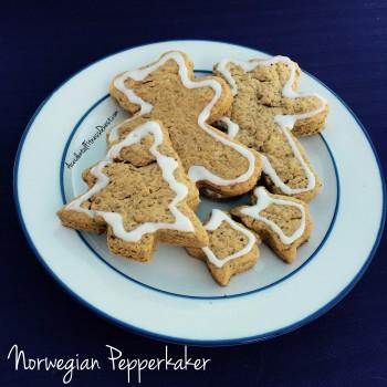 Norwegian Pepperkaker