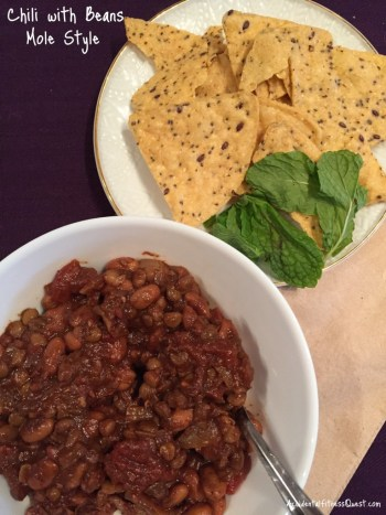 Chili with Beans Mole Style
