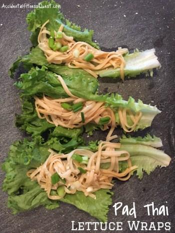 Pad Thai Lettuce Wraps