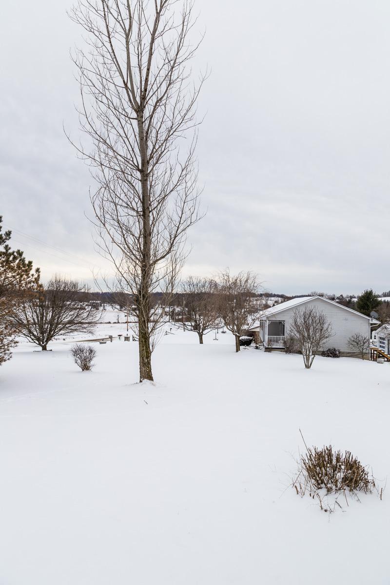 Snow in Wheelersburg