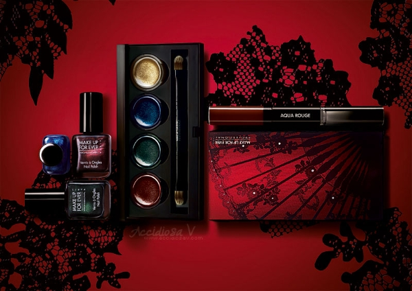 "Make Up For Ever ""Black Tango"", Fall Winter 2012/2013 Collection - Products Overview"