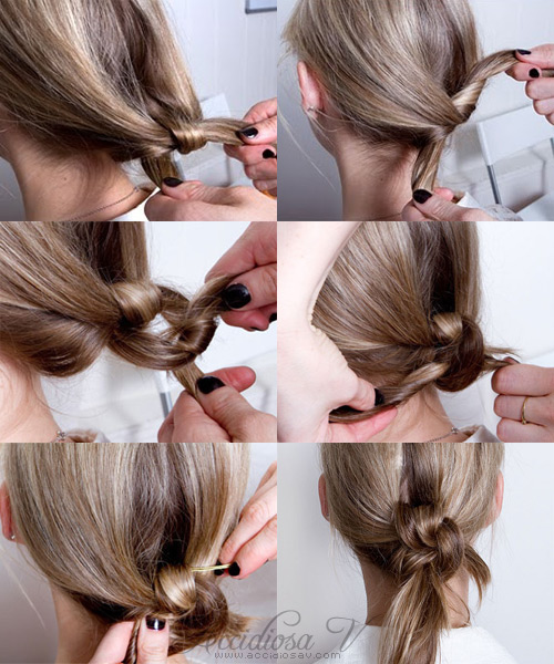 2011 hairstyle - The Hair Double Knot