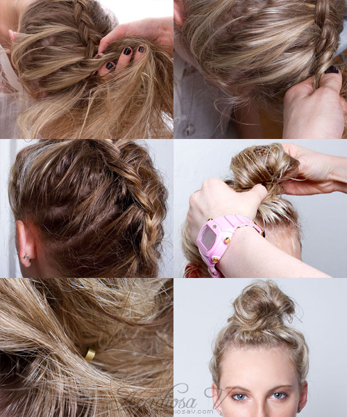 2011 Hair Trends - Updo - Braided Topknot