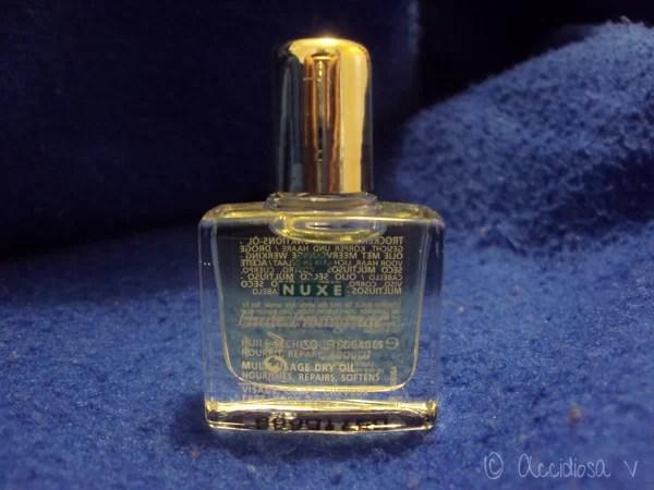 GlossyBox Ottobre 2011 - Nuxe HUILE PRODIGIEUSE (olio secco)