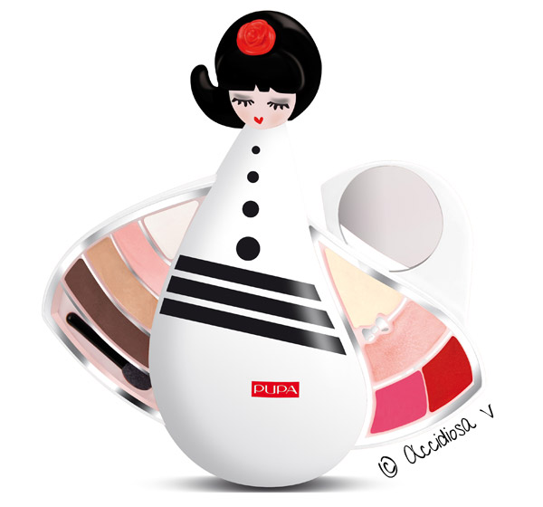 Pupa Doll Small Black and White (Haute Couture Christmas 2011)