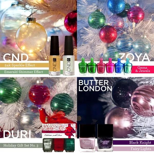 Laquered DIY Christmas Holiday Ornaments