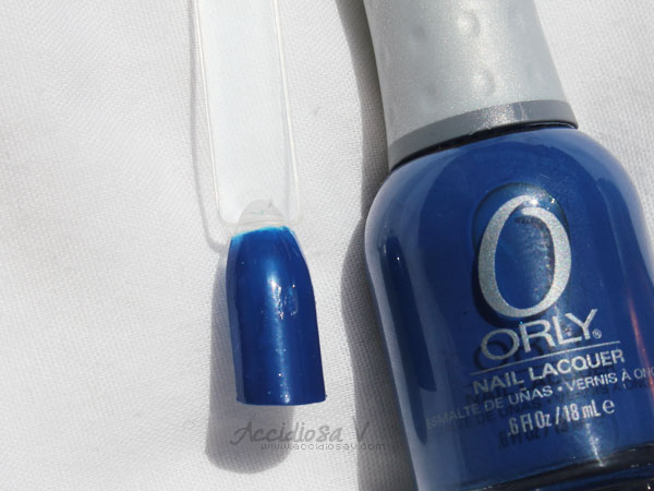 Orly Electronica - Summer / Fall 2012 Collection - Shockwave Swatch & Bottle