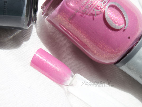 Orly Electronica - Summer / Fall 2012 Collection - Preamp Swatch & Bottle