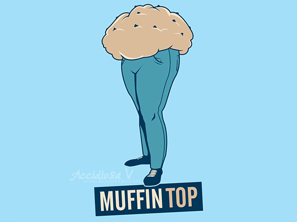 5 consigli per eliminare il muffin top - 5 tips to get rid of the muffin top