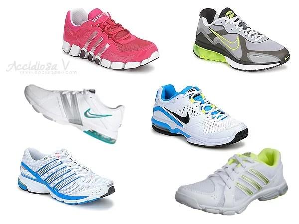 Scarpe da ginnastica (training, running, fitness) - Modelli Adidas e Nike per l'autunno / inverno 2012
