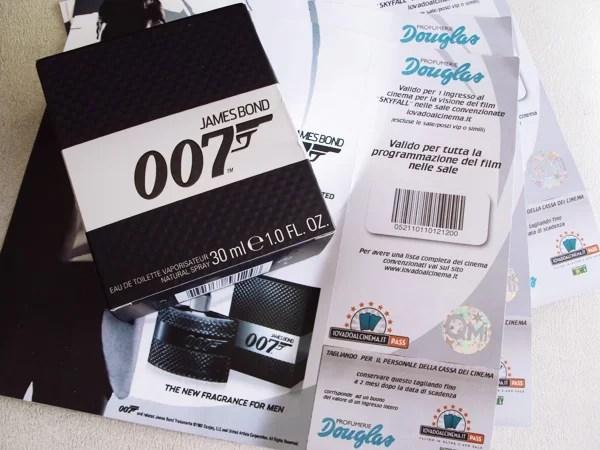 Vinci un ingresso omaggio al cinema per 007 Skyfall, grazie alle profumerie Douglas e alla nuova fragranza di P&G Prestige