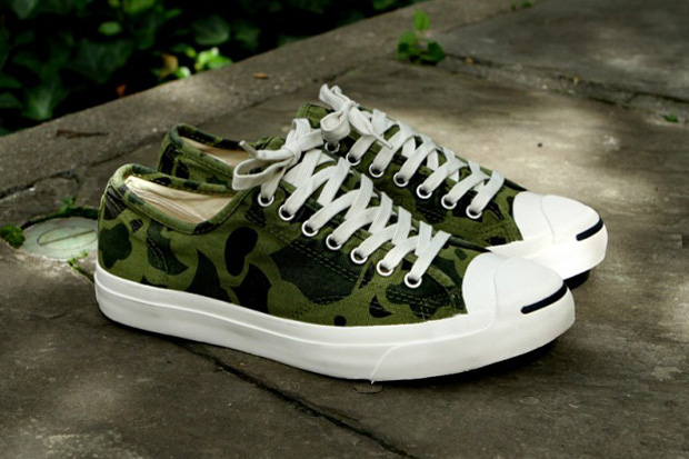 Converse Jack Purcell Olive Branch Camo