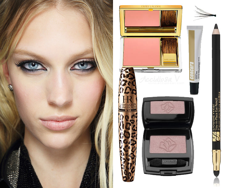 Idee Makeup San Valentino - Versace RTW Primavera Estate 2014 | AccidiosaV