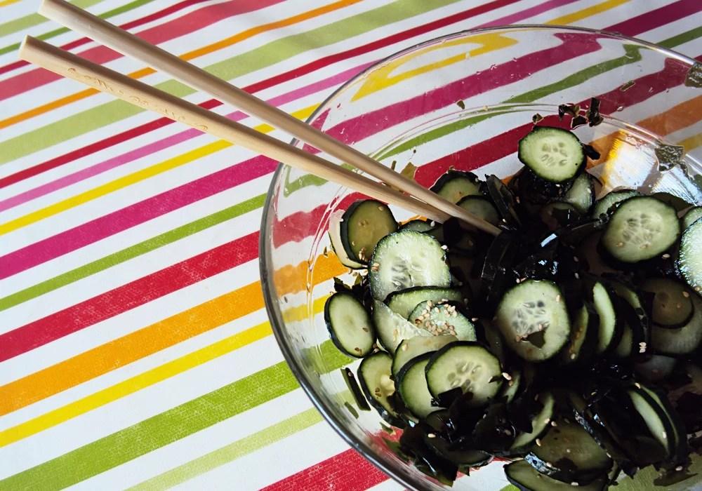 Kyuri No Sunomono - Insalata giapponese di cetrioli e alghe | AccidiosaV