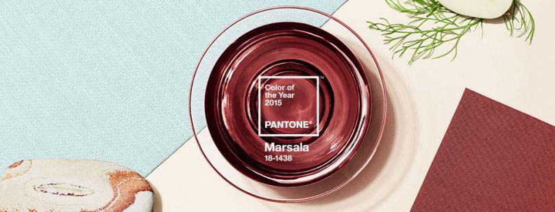 Pantone Marsala - Colore dell'Anno 2015