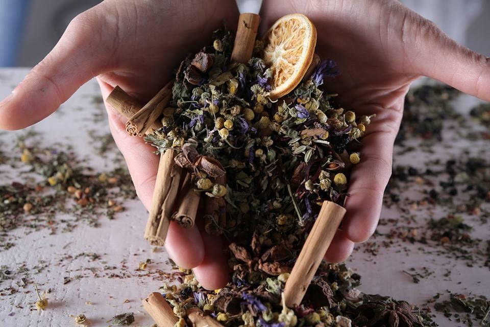 infusi tè e tisane in foglie tesori dalla natura