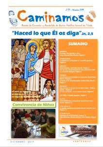 Último número de la revista Caminamos (Diciembre 2019)